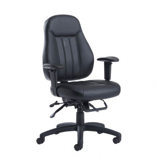 Zeus Med Leather Heavy Duty Office Chair